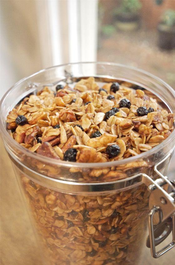 Easy homemade granola | Food | Pinterest