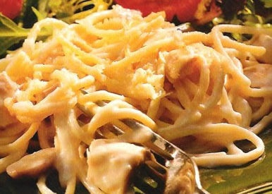 CHICKEN TETRAZZINI – Oh So Good! » Get Off Your Butt and BAKE!