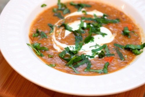 Red Lentil and Carrot Soup | Soups, stews, curry & chili- No meat | P ...