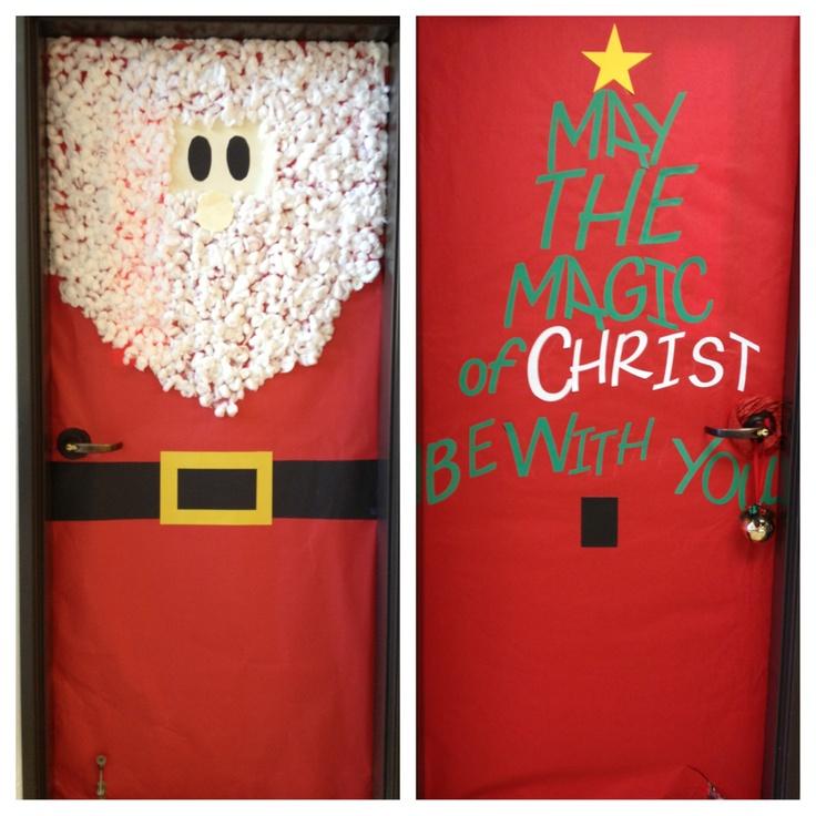 Christmas doors!