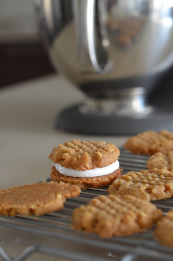 Fluffernutter Cookies | Dessert | Pinterest