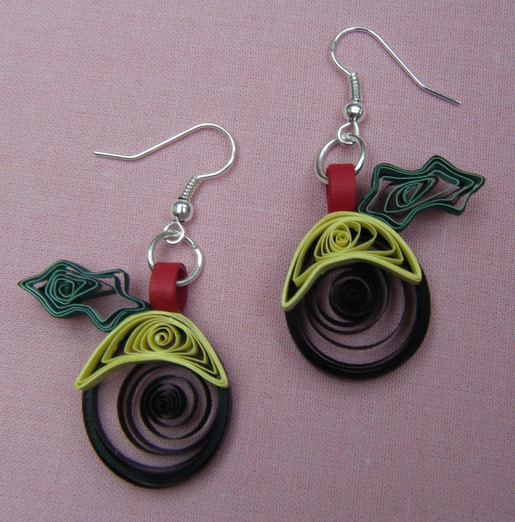 paper quilled earrings search quilled
