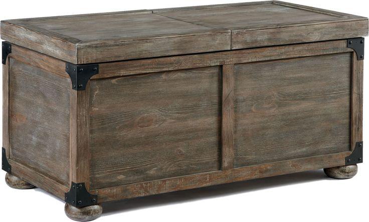 Rustic Storage Trunk Furniture Pinterest