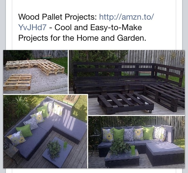 Pallet patio furniture Outdoor living