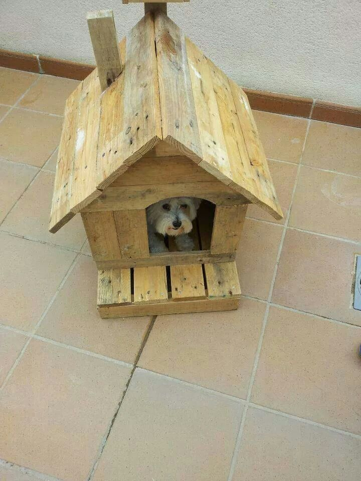 dog house recyclage recup de palettes wood pallet. Black Bedroom Furniture Sets. Home Design Ideas