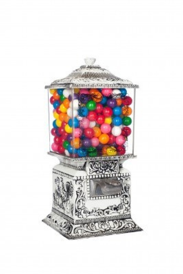 Old fashioned bubble gum machine 35