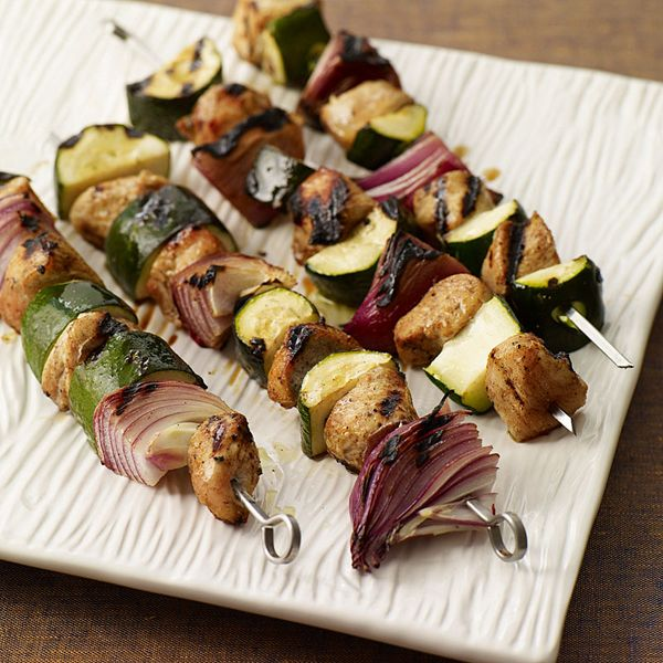 WW Grilled Moroccan Chicken Kabobs | Good-Mood Food | Pinterest