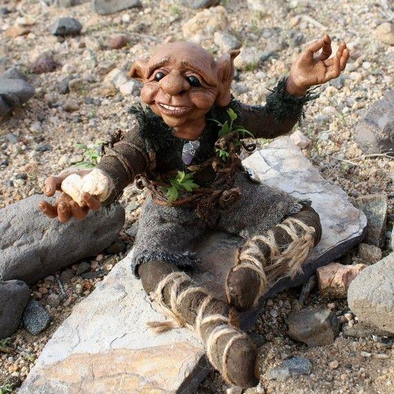 Elf Art Doll Kalju the desert dwelling elf who by ALittleCharacter, $300.00