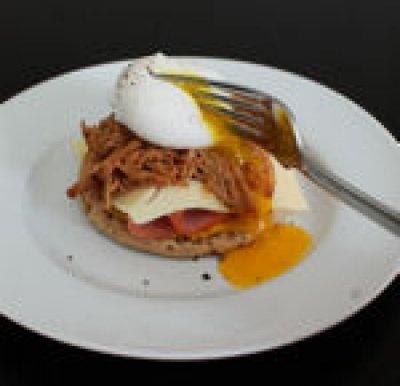 egg in a nest benedict sandwiches recipes dishmaps eggs benedict ...