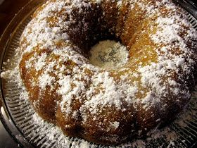 Spiced Pear Sour Cream Bundt Cake | who you callin' a tart | Pinterest
