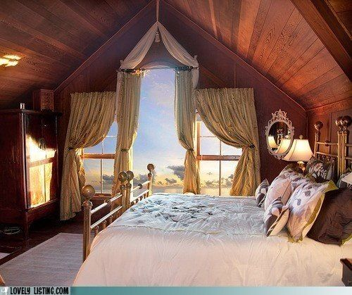 Beautiful attic room dream home pinterest - Beutyful room and houes ...