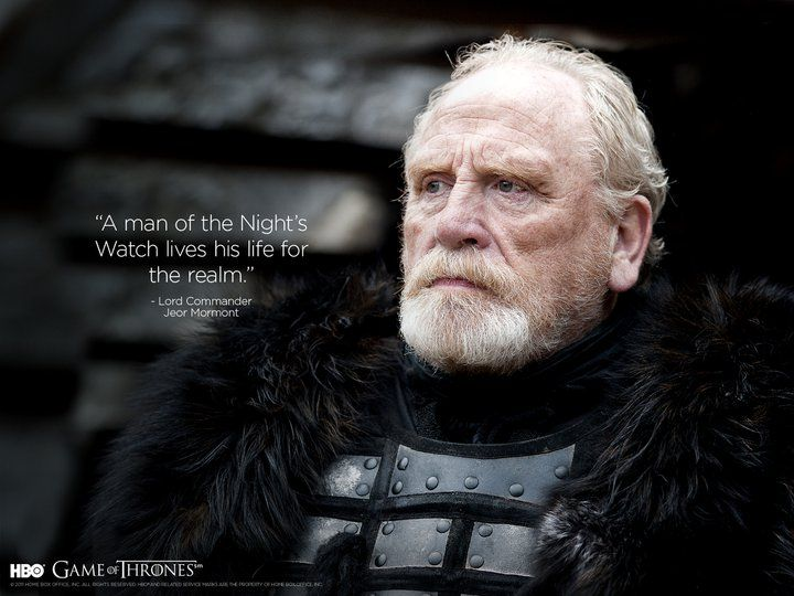 game of thrones commander of the night's watch