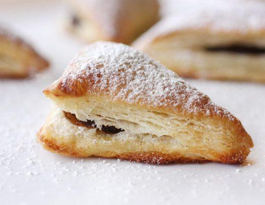 Homemade Nutella Turnovers | Sweet Treats | Pinterest