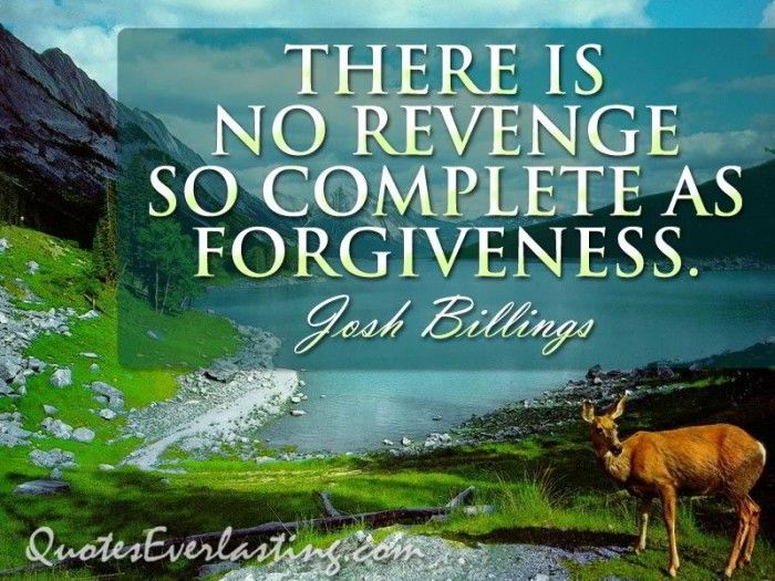 forgiveness and revenge essay