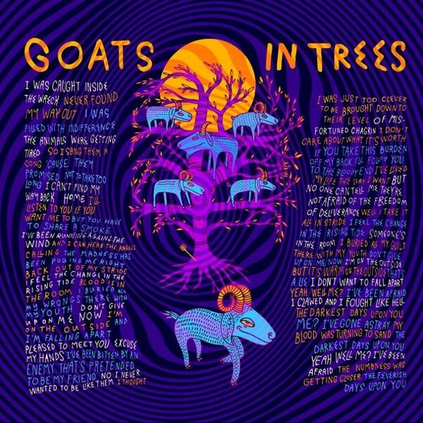 Goats in trees ...
