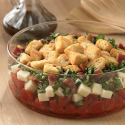 Tomato Bread Salad. | Food and Drink | Pinterest