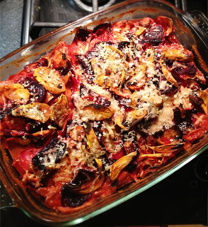 root vegetable gratin | Food for Thought. | Pinterest