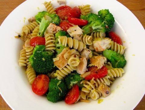 ... broccoli and ham recipe myrecipes com cheesy broccoli and ham rotini