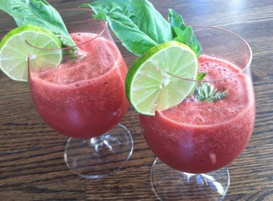Watermelon basil juice | Prost | Pinterest