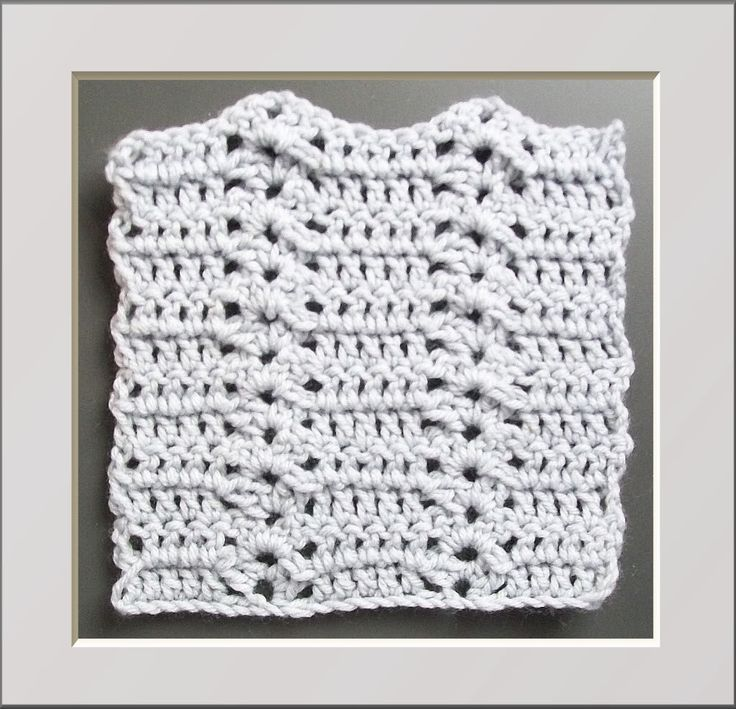 Crochet Stitches Shell Instructions : stitch patterns