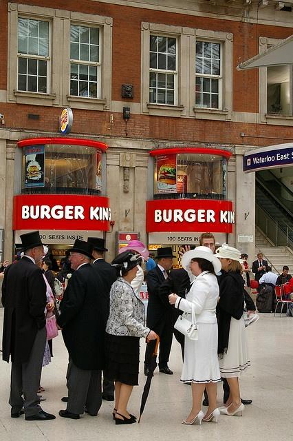 Victorian Railway Food vs 21st Century Railway Food