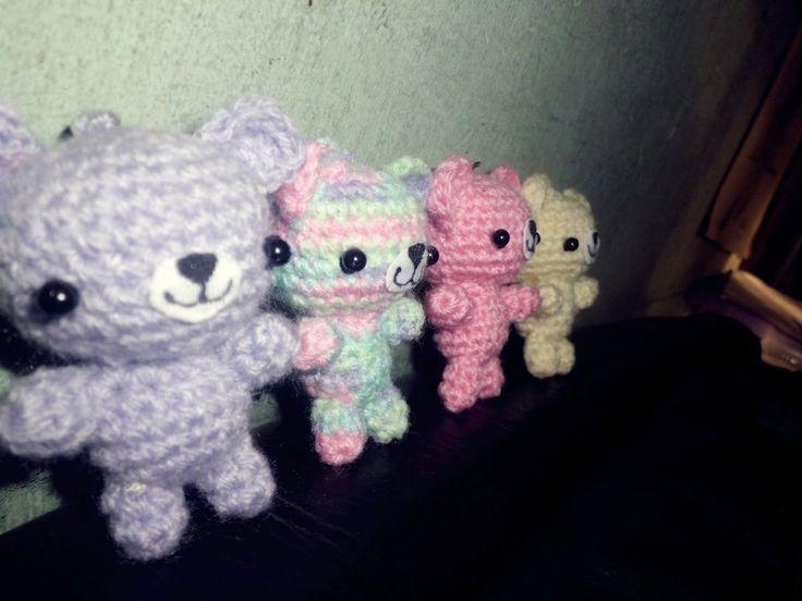 Cute Amigurumi Ideas : Cute bears Amigurumi
