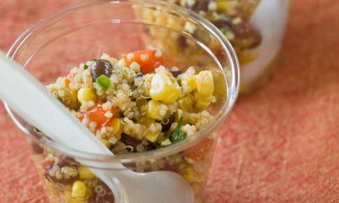 Southwestern Quinoa Salad with Cilantro-Lime Vinaigrette | Recipe
