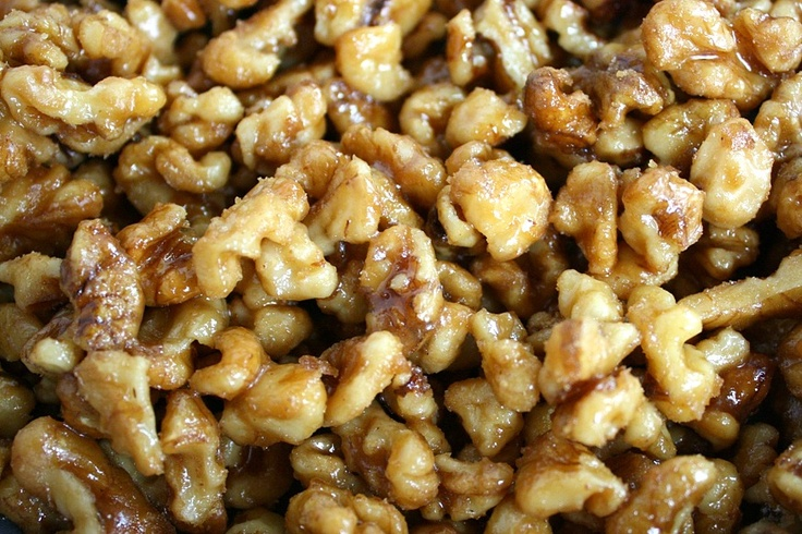 Maple-Candied Walnuts Recipe — Dishmaps