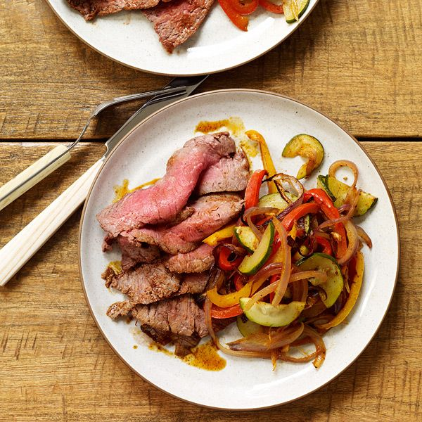 simple spice rub transforms basic flank steak into an easy ...