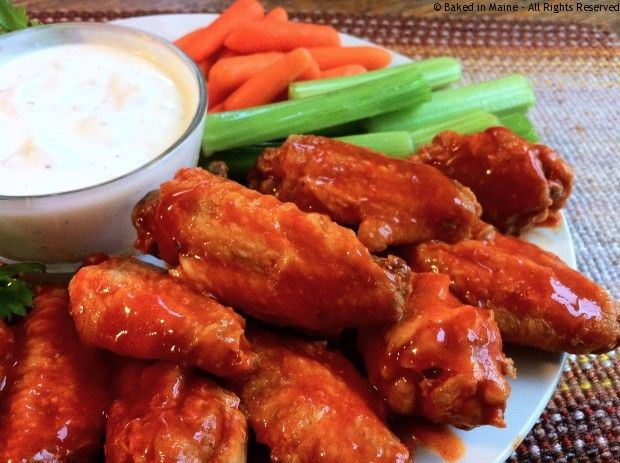 Easy Baked Buffalo Chicken Wings | Around the yard. | Pinterest
