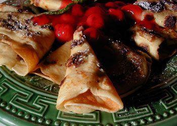 Black Forest Pancakes | Food | Pinterest
