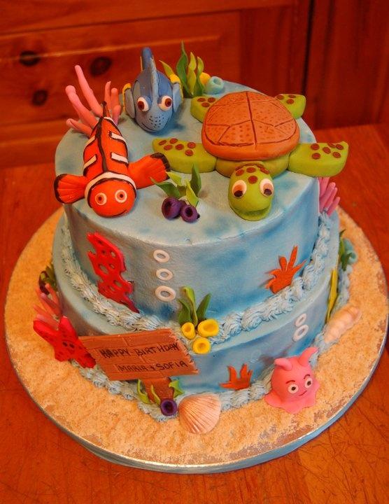nemo birthday cakes