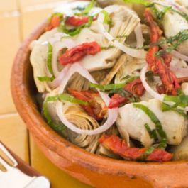 PALEO #SALAD: Canned Artichoke Hearts, Kalamata Olives, Red Yellow ...