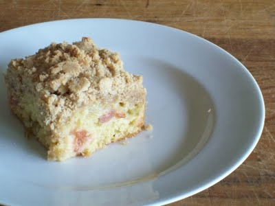 Big Crumb Rhubarb Coffee Cake | Food to try - Cakes | Pinterest