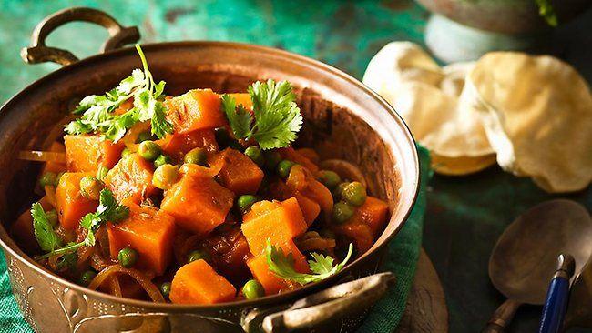 Simple sweet potato & pea curry | Food | Pinterest