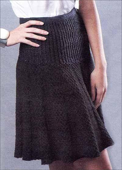 Женские юбки вязание спицами 39