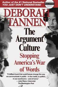 Essay on deborah tannen the argument culture