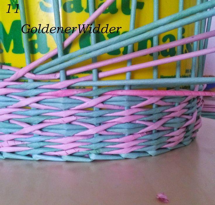 Узоры для плетения из газетных трубочек фото