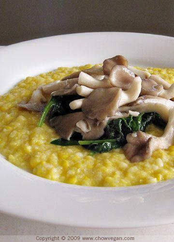 Polenta With Fresh Corn Recipe — Dishmaps