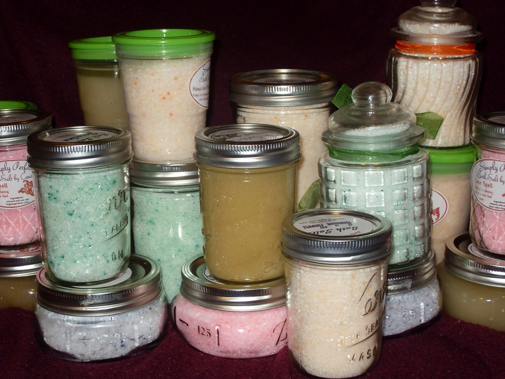 SIMPLY PERFECT: BATH SALT AND SUGAR SCRUBS - SCENTS I HAVE AVAILABLE ...