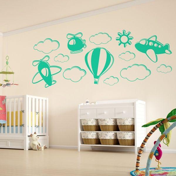 Ampliamos la gama de vinilos decorativos infantiles - Vinilos decorativos en barcelona ...