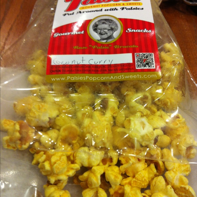 Coconut curry popcorn from Palsies | 30 Days of 30-Brian's 30th Bday ...