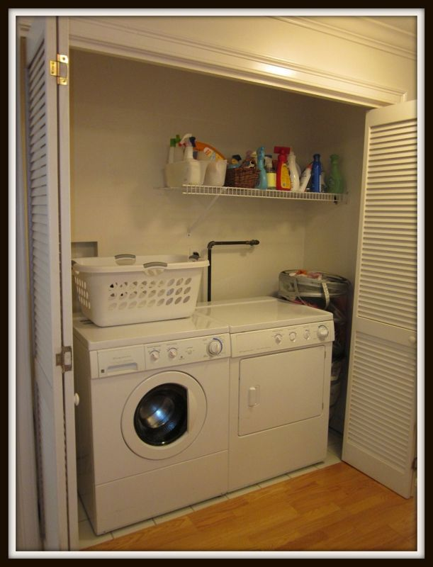 Louvered Doors To Hide The Washer Dryer Home Pinterest