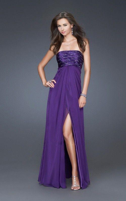 Deep Purple Wedding Dresses : Deep purple bridesmaid dresses