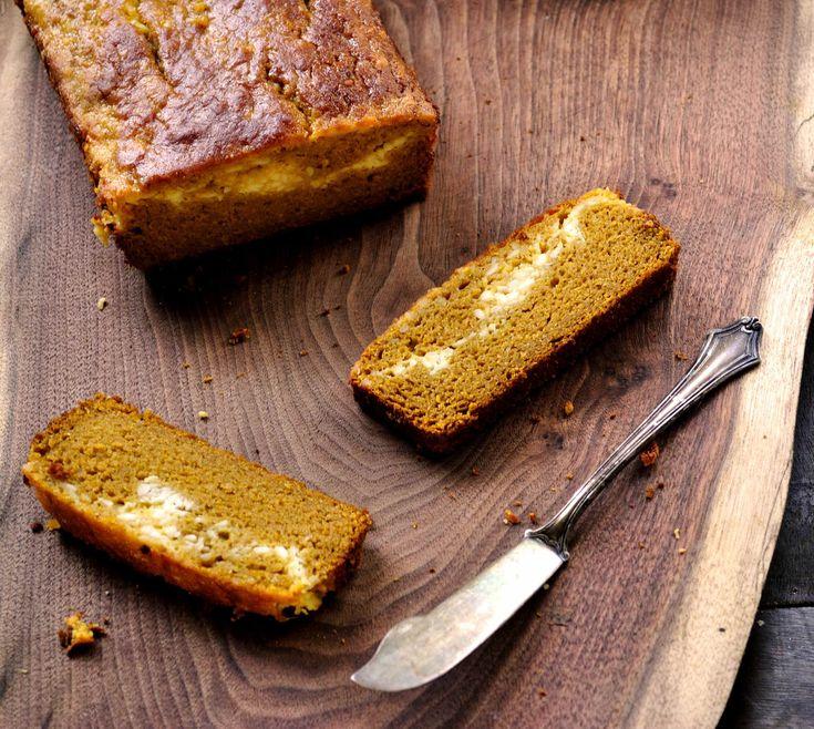 ... Gluten Free Magazine | Recipes - Pumpkin Cream Cheese Swirl Bread