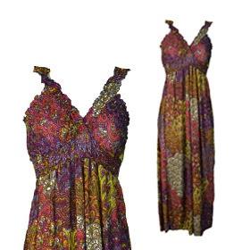 Women Ruffle Maxi Dress- Pink $13.00 Our Price