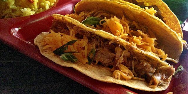 Pork Carnitas Tacos http://thelatinkitchen.com/recipe/pork-carnita ...