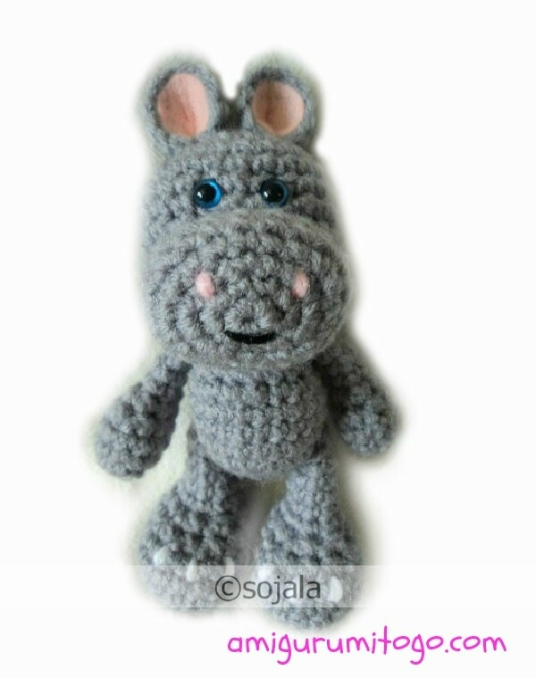 Crochet Pattern Free Hippo : Free Hippo Crochet Pattern crafts Pinterest