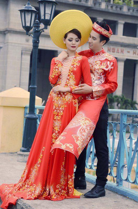 Vietnamese Wedding Dresses 22