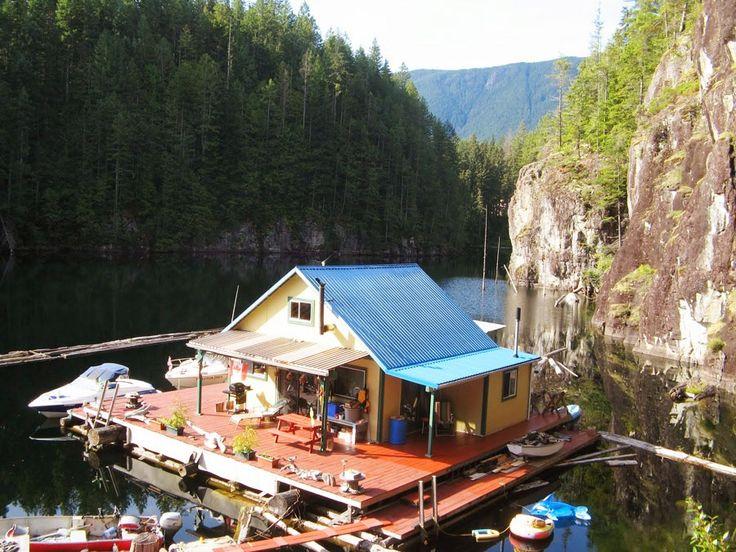 Floating Cabin Pinterest